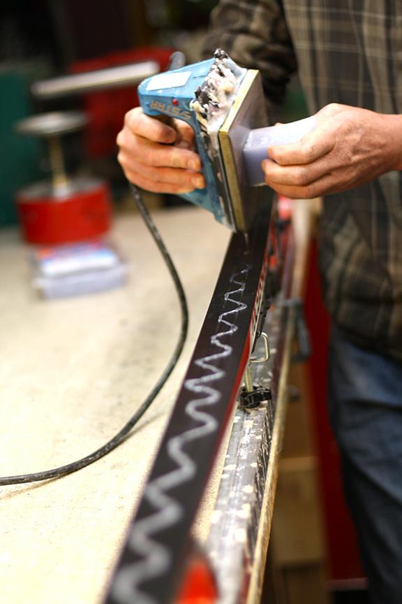 Skinny Skis waxing