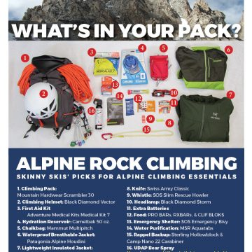 What's in your climbing pack?