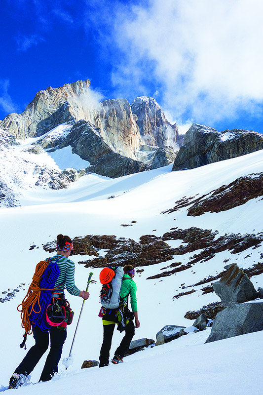 Patagonia Capilene in action. Great for adventures big and small. Photo credit: Peter Doucette