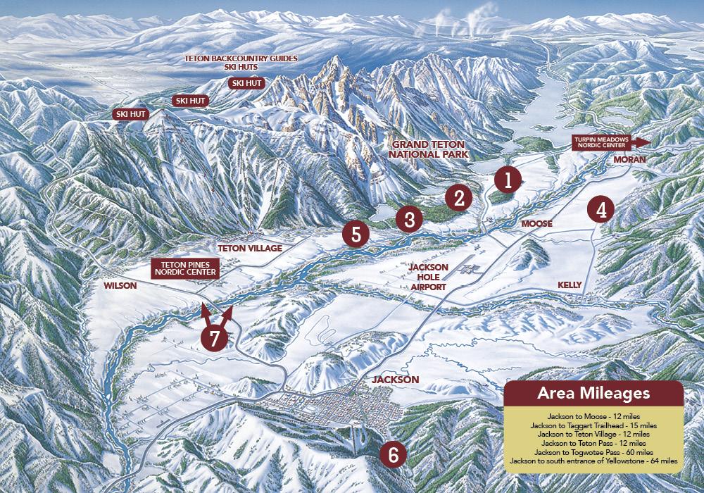 7 of the best ski tours in jackson hole skinny skis jackson hole