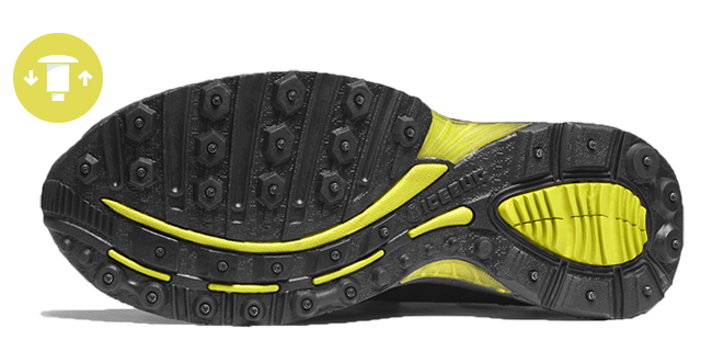 IceBug Shoes and BuGrip Technology