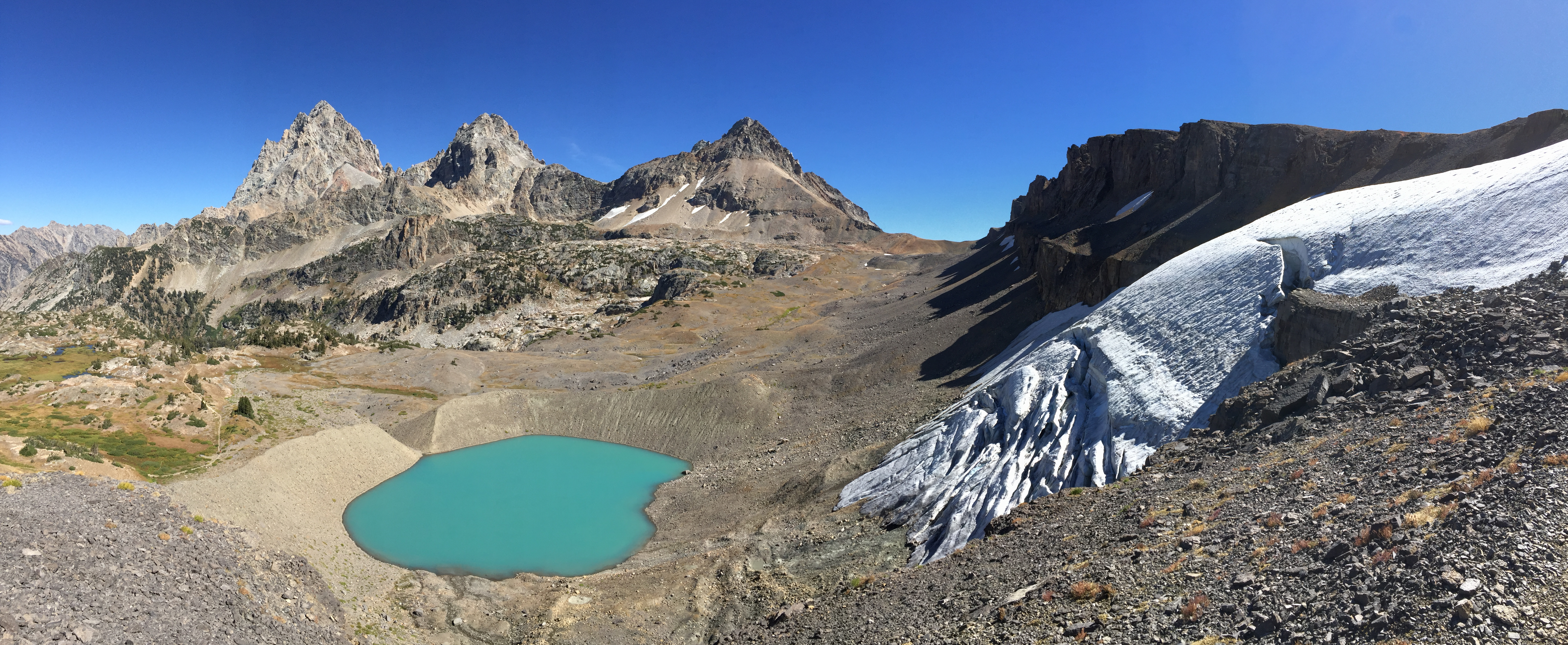 Teton Crest Trail - Hurricane Pass